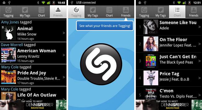скачать приложение на андроид shazam
